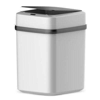 Automatic Trash Can Dustbin Lid Motion Detector Kitchen Bedroom No Noise 10L Battery