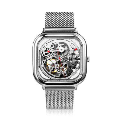 CIGA Design Hollow-out Automatic Mechanical Watch Stainless Steel Net Band xiaomi Watch