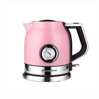 1.8L Stainless Steel Electric Kettle with Thermometer Auto Shut-off Fast Heating Water Boiler