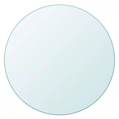 Top Tempered Glass Table Round 700 mm ML096
