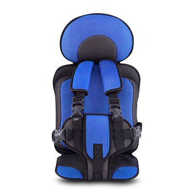 Children Car Safety Seat Cushion with Adjustable Safety Belt Quick Buckle for Boys Girls