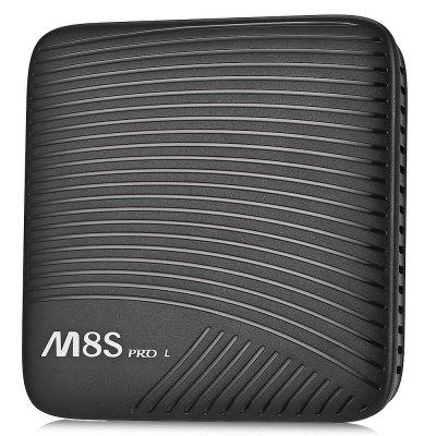 M8S PRO L 4K TV Box Android 7.1 Bluetooth 4.1 Voice Remote Control  Dual-band WiFi EU Plug