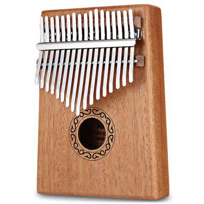 17-tone Wooden Kalimba Thumb Piano Portable Finger Musical instrument