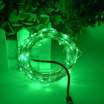 ZDM 3M LED String Lamp Small AA Battery Box Copper Wire String