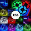 Waterproof 5M 300x5050 SMD RGB Led Strips Lighting Kit with 44 Key IR Remote Controller and Adapter