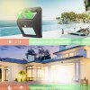 2pcs light control twilight to dawn LED solar wall lamp 20led cold white Automatic On Off