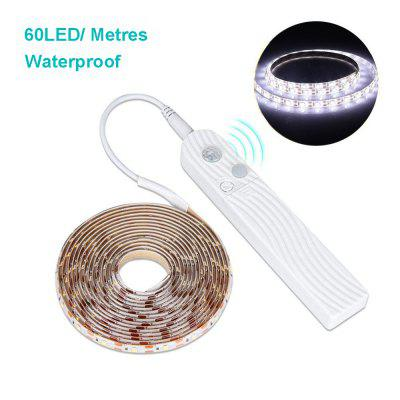1-3M 5V Waterproof Induction Light Wardrobe Bedroom LED Light with Human Body Induction Light Strip