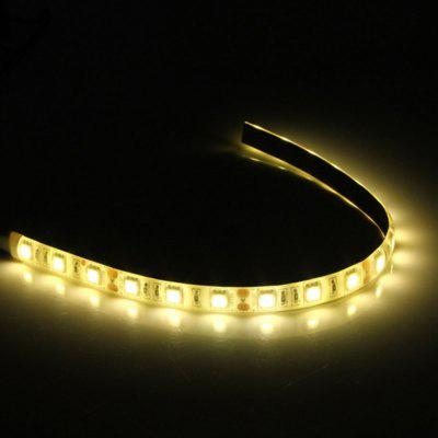 0.5M waterproof DC 12V 5050  LED flexible Strip light computer case with multicolor light