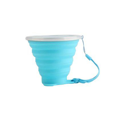 Folding cup sports cup