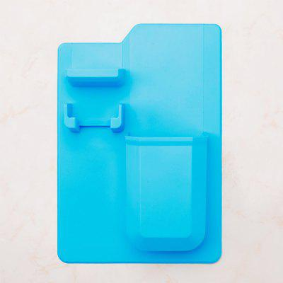Toothpaste storage box without wall hanging silicone toothbrush holder bathroom silicone toothbrush