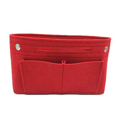 Felt cosmetic bag with multi-function creative travel portable storage bag