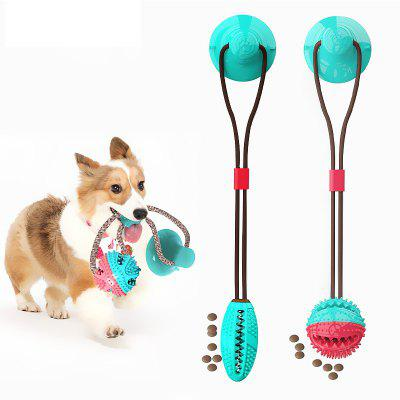 LEEHUR Pet Dog Toy Ball Molars Leaking Bite Sucker Tooth Cleaning Combination Pet Supplies Molars