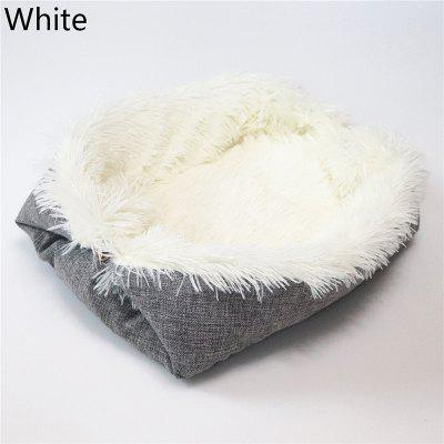 LEEHUR Winter Dog Mat Soft Fleece Cat Sleeping Bed Blanket For Small Large Dogs Pet Cushion