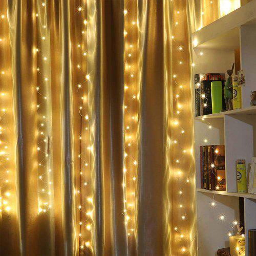 LED Fairy Window Curtain String Light For Christmas Wedding Party Home Garden HX