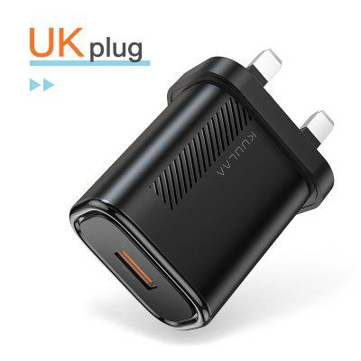 KUULAA Quick Charge 3.0 QC 18W USB Charger Fast Charging USB Wall Phone Charger