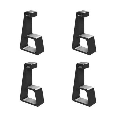 leeHUR Cooling Extension Bracket Heighten Support Stand for PS4 Pro Slim Extenders Holder Accessory