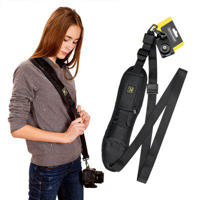 1PCS Kameragurt Single Shoulder Sling Belt Neck Strap für DSLR Digital SLR Kamera Canon Nikon Sony