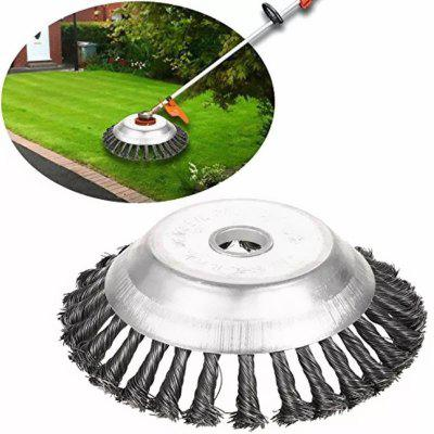 6/8 inch Grass Trimmer Head Lawn Mower Weed Eater Wheel Weeding Trimmer Brush Cutter Tools
