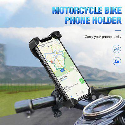 Adjustable Phone Holder Anti Shake 360 Degree Rotation Bicycle Handlebar Mobile Phone Mount Stand