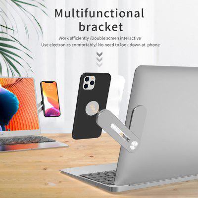 Adjustable Phone Stand Magnetic Multi Screen Support Holder Laptop Side Connect Phone Bracket