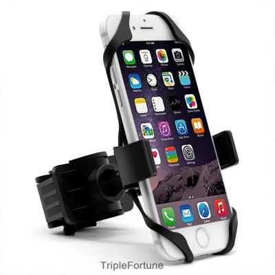 360 Degree Rotating Bike Phone Mount Bicycle Handlebar Phone Holder for iPhone Huawei Xiaomi