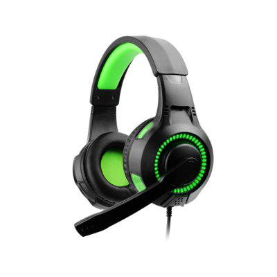 Gaming Headphone Over-Ear Headset Earphone with LED Light for PS4 XBOX ONE PC Laptop Games