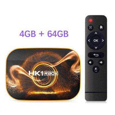 2020 Android 10 TV Box HK1 RBOX R1 4GB 64GB Rockchip RK3318 1080P 4K Google Play Store Netflix Youtube Set Top Box Image