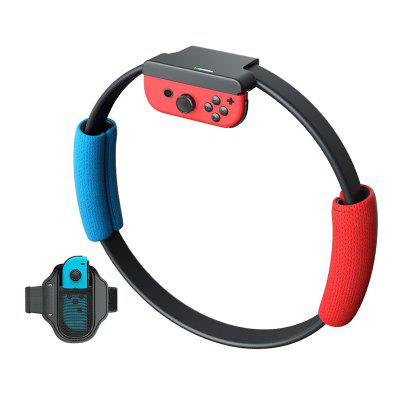 Adjustable Sport Band Grips Leg Strap Set for Nintendo Swith Joy Game Ring Fit Adventure Game