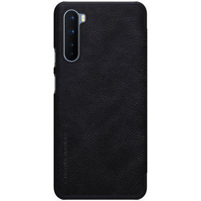 NILLKIN Protective QIN Leather Phone Case Flip Cover Wallet with Card Pocket for Oneplus Nord