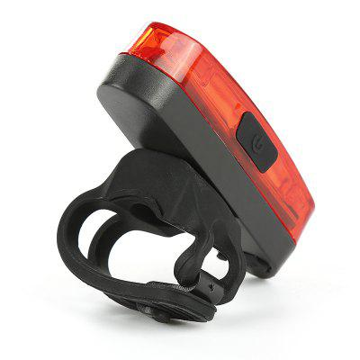USB Rechargeable Bicycle Rear Light Safe Warning Taillight Night Riding Tail MTB Road Bike Safety Lamp Cycling Accessories
