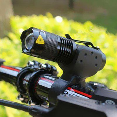 Bicycle Light Q5 Led Bike Cycling Front Lamp Torch Zoomable Focus Flashlight for Outdoor Night Riding Accessories