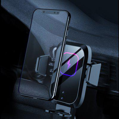 Universal Car Phone Holder 10W 15W IR Infrared Qi Wireless Charger Air Vent Auto Clip Mount Mobile Stand