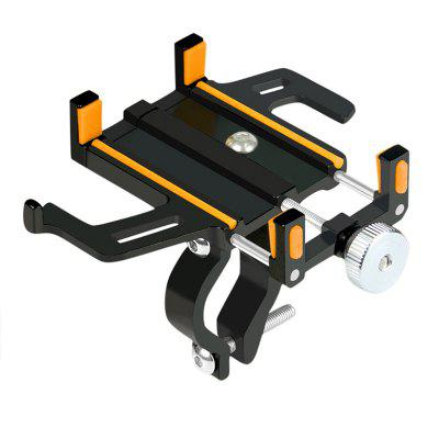 Aluminum Alloy Bike Phone Holder Adjustable Bicycle Motorcycle Handlebar Clip Mount MTB Road Moto Stand Bracket