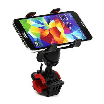 360 Degree Rotate Bicycle Phone GPS Holder Motorcycle Bike Handlebar Clip Mount Bracket Moto Support Rack Stand