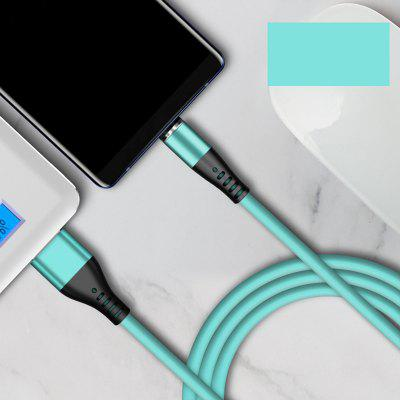 1m Magnet Cable Micro USB Type C Charge Cable for iPhone Samsung Xiaomi Huawei Phones