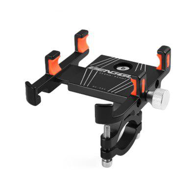 360 Degree Rotation Aluminum Alloy Bicycle Phone Holder Motorcycles Bike Handlebar Mount Cycling Accessories