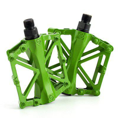 1pair Bike Pedal Aluminum alloy Bicycle Flat MTB Cycling Accessories