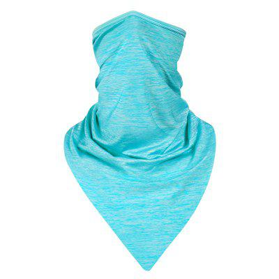 1PC Cycling Breathable Ice Silk Face Mask Neck Cover Bandana Windproof Dust Sports Headband