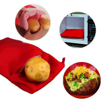 1PC Microwave Potato Bag Washable Cooker Baking Potatoes Easy Cooking Quick Fast Oven Kitchen Tools