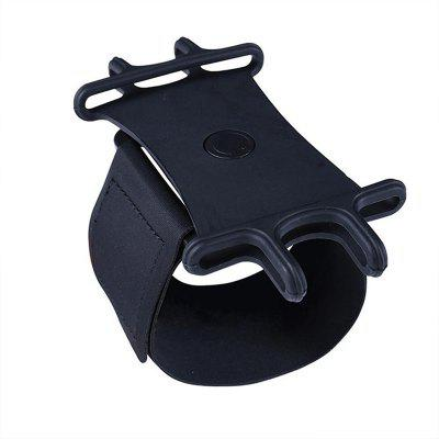 360 Rotating Mobile Phone Wristband Arm Band Strap for Outdoor Sports Running Jogging Cycling Bracket Stand