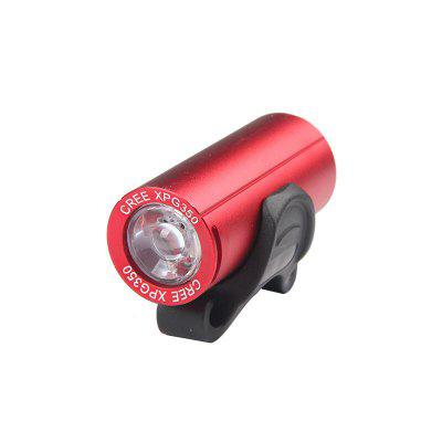 LED Bike Light USB Rechargeable MTB Front 350 Lumens Bicycle Head Lamp Cycling Headlight Built-in Battery