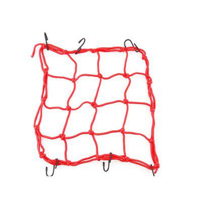 30x30cm Heavy-Duty Elastic Motorcycle Luggage Helmet Net Mesh