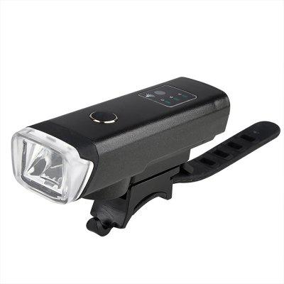 Smart Induction Bicycle Front Headlight USB Rechargeable Bike Light Flashlight Lamp