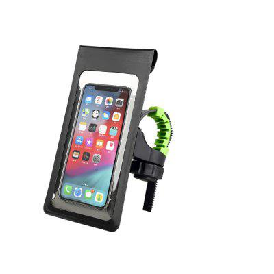 Universal MTB Road Bike Phone Holder Waterproof Touch Screen Bag Bicycle Handlebar GPS Mount for 6 inch Phones