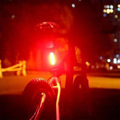 USB Rechargeable Bicycle Taillight Bike Rear Ligh LED Safety Warning Lamp Night Cycling Tail Light
