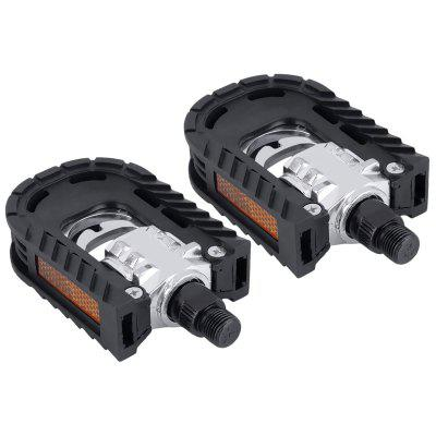 1Pair Bicycle Pedals Non-slip Folding MTB Road Bike Cycling Parts
