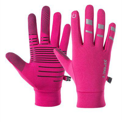 Cycling Windproof Glove Men Women Winter Touch Screen Mittens for Outdoor Bicycle Ski Warmer Gloves