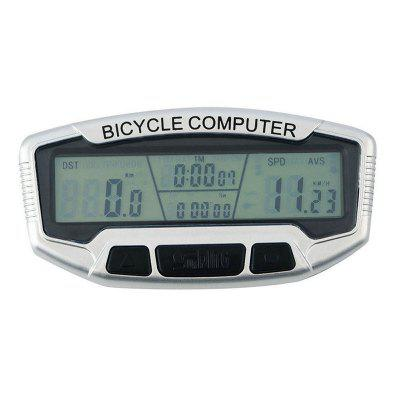 Bicycle Computer LCD Backlight Wired Speedometer Digital Odometer Stopwatch Cycling Accessories