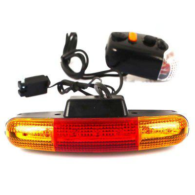 LED Bicycle Turn Signal Light with Horn MTB Front Rear Lights Bike Directional Brake Cycling Taillight Lamp