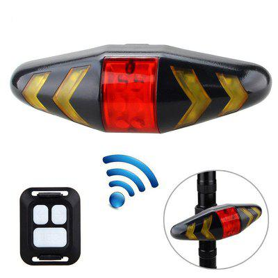 Bike Safety Warning Turn Signals Tail Light Bicycle Taillight with Wireless Remote Controller Cycling Lamp